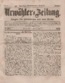 Urwähler-Zeitung : Organ für Jedermann aus dem Volke, Freitag, 12. September 1851, Nr. 211.