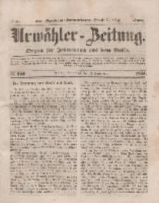 Urwähler-Zeitung : Organ für Jedermann aus dem Volke, Sonnabend, 13. September 1851, Nr. 212.