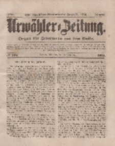 Urwähler-Zeitung : Organ für Jedermann aus dem Volke, Mittwoch, 17. September 1851, Nr. 215.