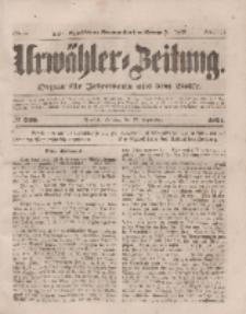 Urwähler-Zeitung : Organ für Jedermann aus dem Volke, Dienstag, 23. September 1851, Nr. 220.