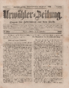 Urwähler-Zeitung : Organ für Jedermann aus dem Volke, Mittwoch, 24. September 1851, Nr. 221.
