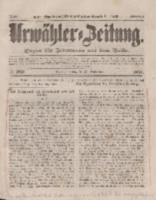 Urwähler-Zeitung : Organ für Jedermann aus dem Volke, Freitag, 26. September 1851, Nr. 223.