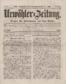 Urwähler-Zeitung : Organ für Jedermann aus dem Volke, Sonntag, 28. September 1851, Nr. 225.