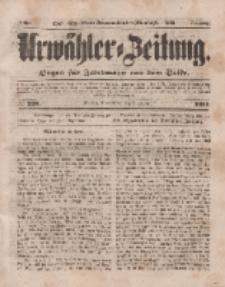 Urwähler-Zeitung : Organ für Jedermann aus dem Volke, Donnerstag, 2. Oktober 1851, Nr. 228.