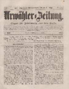 Urwähler-Zeitung : Organ für Jedermann aus dem Volke, Sonntag, 5. Oktober 1851, Nr. 231.