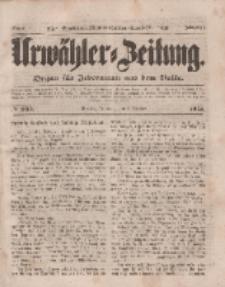 Urwähler-Zeitung : Organ für Jedermann aus dem Volke, Mittwoch, 8. Oktober 1851, Nr. 233.