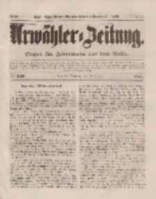 Urwähler-Zeitung : Organ für Jedermann aus dem Volke, Sonntag, 12. Oktober 1851, Nr. 237.