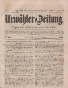 Urwähler-Zeitung : Organ für Jedermann aus dem Volke, Mittwoch, 15. Oktober 1851, Nr. 239.