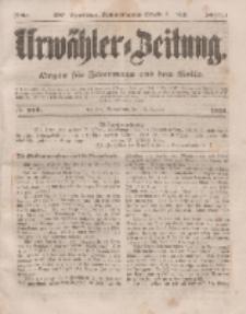 Urwähler-Zeitung : Organ für Jedermann aus dem Volke, Sonnabend, 18. Oktober 1851, Nr. 242.