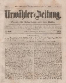 Urwähler-Zeitung : Organ für Jedermann aus dem Volke, Donnerstag, 23. Oktober 1851, Nr. 246.
