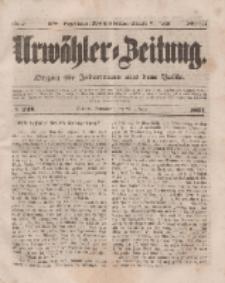 Urwähler-Zeitung : Organ für Jedermann aus dem Volke, Sonnabend, 25. Oktober 1851, Nr. 248.