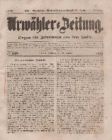 Urwähler-Zeitung : Organ für Jedermann aus dem Volke, Sonntag, 26. Oktober 1851, Nr. 249.