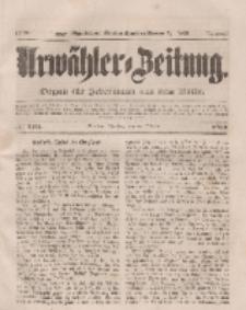 Urwähler-Zeitung : Organ für Jedermann aus dem Volke, Dienstag, 28. Oktober 1851, Nr. 250.