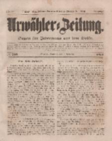 Urwähler-Zeitung : Organ für Jedermann aus dem Volke, Sonntag, 2. November 1851, Nr. 255.