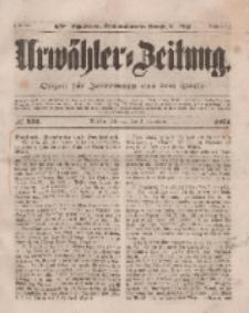 Urwähler-Zeitung : Organ für Jedermann aus dem Volke, Dienstag, 4. November 1851, Nr. 256.