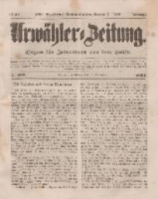 Urwähler-Zeitung : Organ für Jedermann aus dem Volke, Mittwoch, 5. November 1851, Nr. 257.