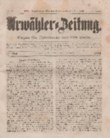Urwähler-Zeitung : Organ für Jedermann aus dem Volke, Donnerstag, 6. November 1851, Nr. 258.
