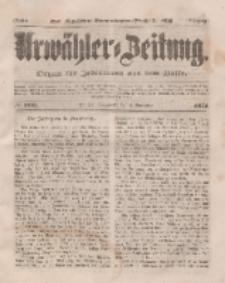 Urwähler-Zeitung : Organ für Jedermann aus dem Volke, Sonnabend, 8. November 1851, Nr. 260.