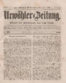 Urwähler-Zeitung : Organ für Jedermann aus dem Volke, Dienstag, 9. November 1851, Nr. 262.