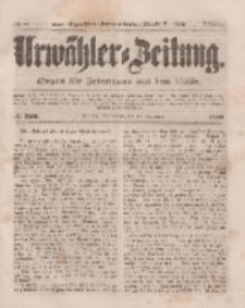 Urwähler-Zeitung : Organ für Jedermann aus dem Volke, Sonnabend, 15. November 1851, Nr. 266.