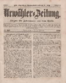 Urwähler-Zeitung : Organ für Jedermann aus dem Volke, Sonntag, 16. November 1851, Nr. 267.