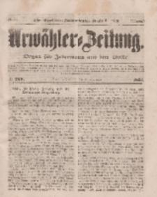 Urwähler-Zeitung : Organ für Jedermann aus dem Volke, Dienstag, 18. November 1851, Nr. 268.
