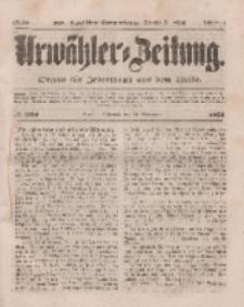 Urwähler-Zeitung : Organ für Jedermann aus dem Volke, Mittwoch, 19. November 1851, Nr. [269].