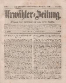 Urwähler-Zeitung : Organ für Jedermann aus dem Volke, Donnerstag, 27. November 1851, Nr. 276.