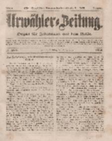 Urwähler-Zeitung : Organ für Jedermann aus dem Volke, Dienstag, 2. Dezember 1851, Nr. 280.