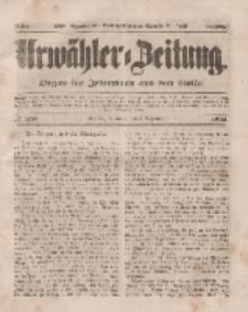 Urwähler-Zeitung : Organ für Jedermann aus dem Volke, Mittwoch, 3. Dezember 1851, Nr. 281.