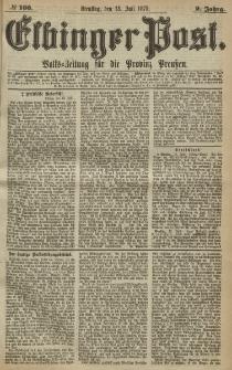 Elbinger Post, Nr. 160, Dienstag 13 Juli 1875, 2 Jh