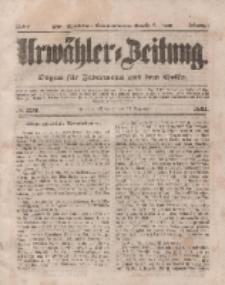 Urwähler-Zeitung : Organ für Jedermann aus dem Volke, Mittwoch, 17. Dezember 1851, Nr. 293.