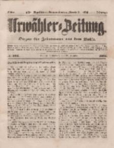 Urwähler-Zeitung : Organ für Jedermann aus dem Volke, Sonnabend, 20. Dezember 1851, Nr. 296.