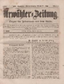 Urwähler-Zeitung : Organ für Jedermann aus dem Volke, Dienstag, 23. Dezember 1851, Nr. 298.