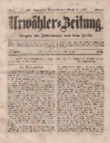 Urwähler-Zeitung : Organ für Jedermann aus dem Volke, Donnerstag, 25. Dezember 1851, Nr. 300.