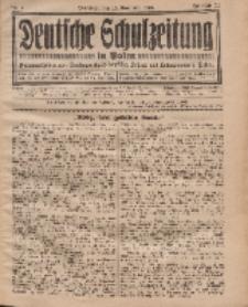 Deutsche Schulzeitung in Polen, 12. Jahrgang. 15. November 1931, Nr 4.