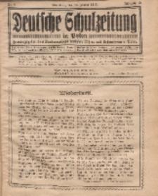 Deutsche Schulzeitung in Polen, 12. Jahrgang. 15. Januar 1932, Nr 8.