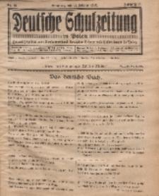 Deutsche Schulzeitung in Polen, 12. Jahrgang. 15. Februar 1932, Nr 10.