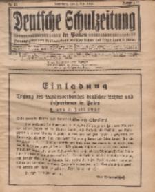 Deutsche Schulzeitung in Polen, 12. Jahrgang. 1. Mai 1932, Nr 15.