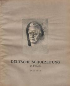 Deutsche Schulzeitung in Polen, 12. Jahrgang. 1. Juli 1932, Nr 19/20.