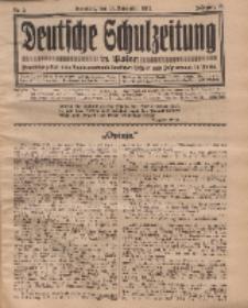Deutsche Schulzeitung in Polen, 13. Jahrgang. 15. November 1932, Nr 2.