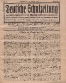 Deutsche Schulzeitung in Polen, 14. Jahrgang. 15. Januar 1934, Nr 4.