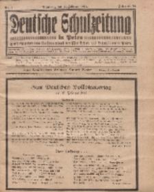 Deutsche Schulzeitung in Polen, 14. Jahrgang. 15. Februar 1934, Nr 5.