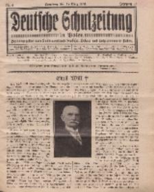 Deutsche Schulzeitung in Polen, 14. Jahrgang. 15. März 1934, Nr 6.