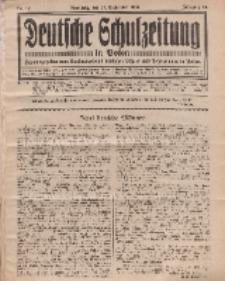 Deutsche Schulzeitung in Polen, 14. Jahrgang. 15. September 1934, Nr 12.