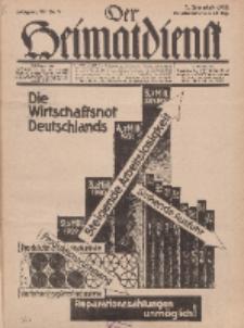 Der Heimatdienst : Mitteilungen der Reichszentrale für Heimatdienst, 12. Jahrgang, 2. Januarheft 1932, Nr 2.