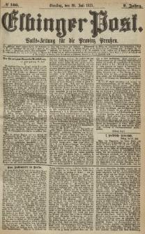 Elbinger Post, Nr. 166, Dienstag 20 Juli 1875, 2 Jh