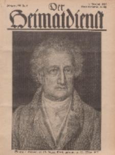 Der Heimatdienst : Mitteilungen der Reichszentrale für Heimatdienst, 12. Jahrgang, 2. Märzheft 1932, Nr 6.