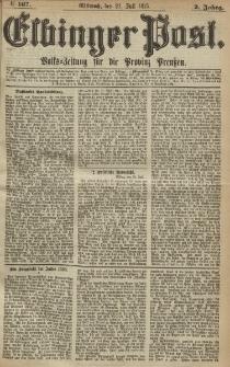 Elbinger Post, Nr. 167, Mittwoch 21 Juli 1875, 2 Jh