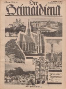 Der Heimatdienst : Mitteilungen der Reichszentrale für Heimatdienst, 12. Jahrgang, 1. Augustheft 1932, Nr 15.